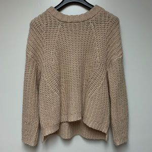 Universal Thread oversized knitted cream sweater